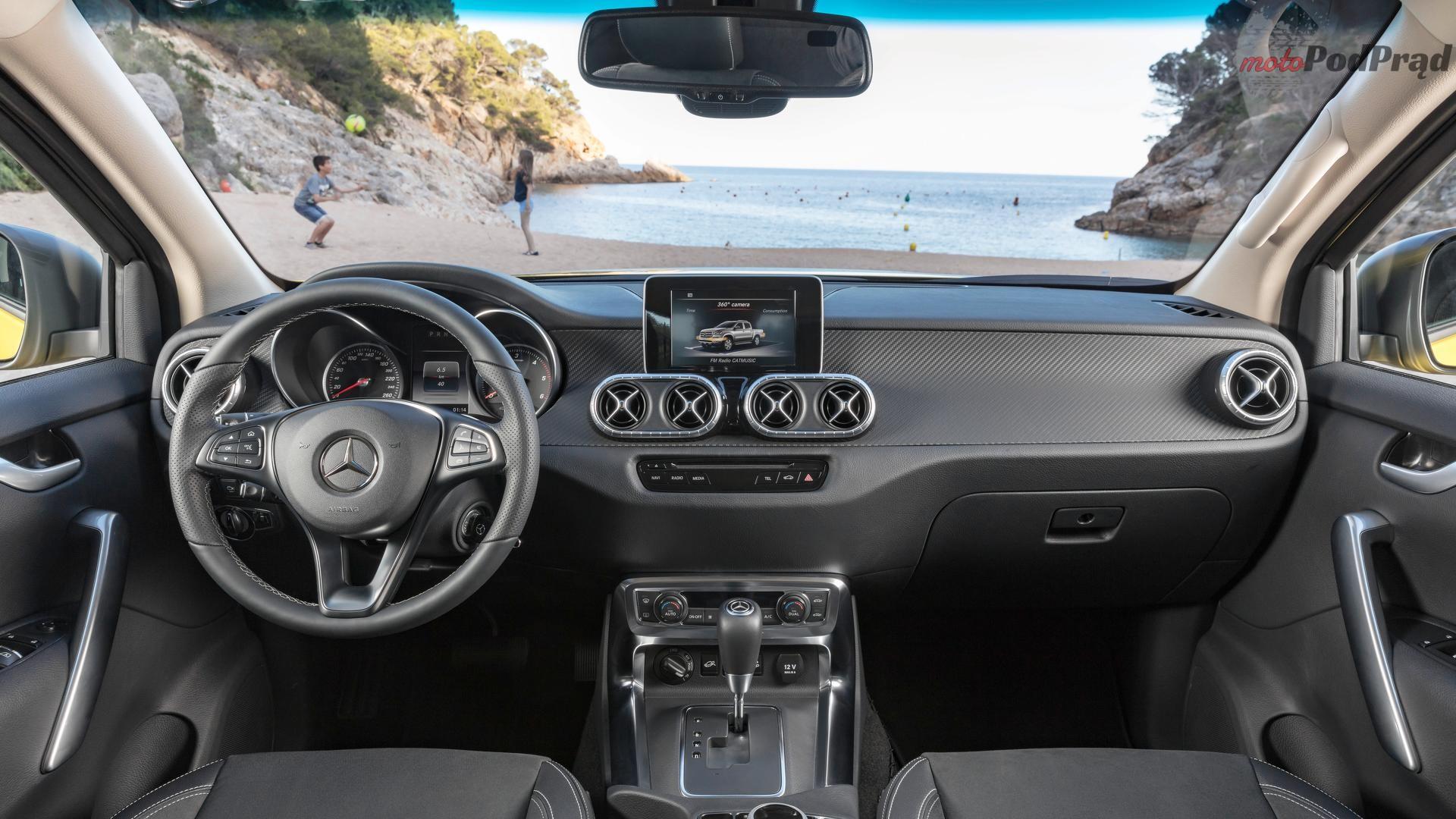 mercedes classe x Mercedes klasy X w wersji produkcyjnej
