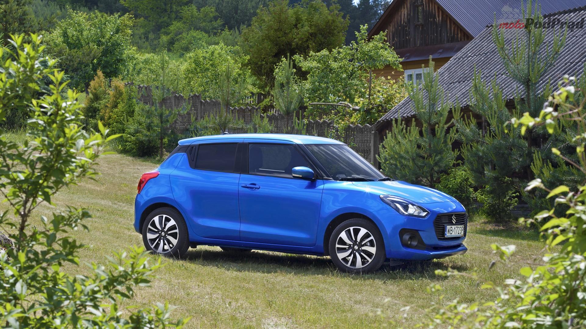 suzuki swift bok 2 Test: Suzuki Swift 1.2 DualJet SHVS