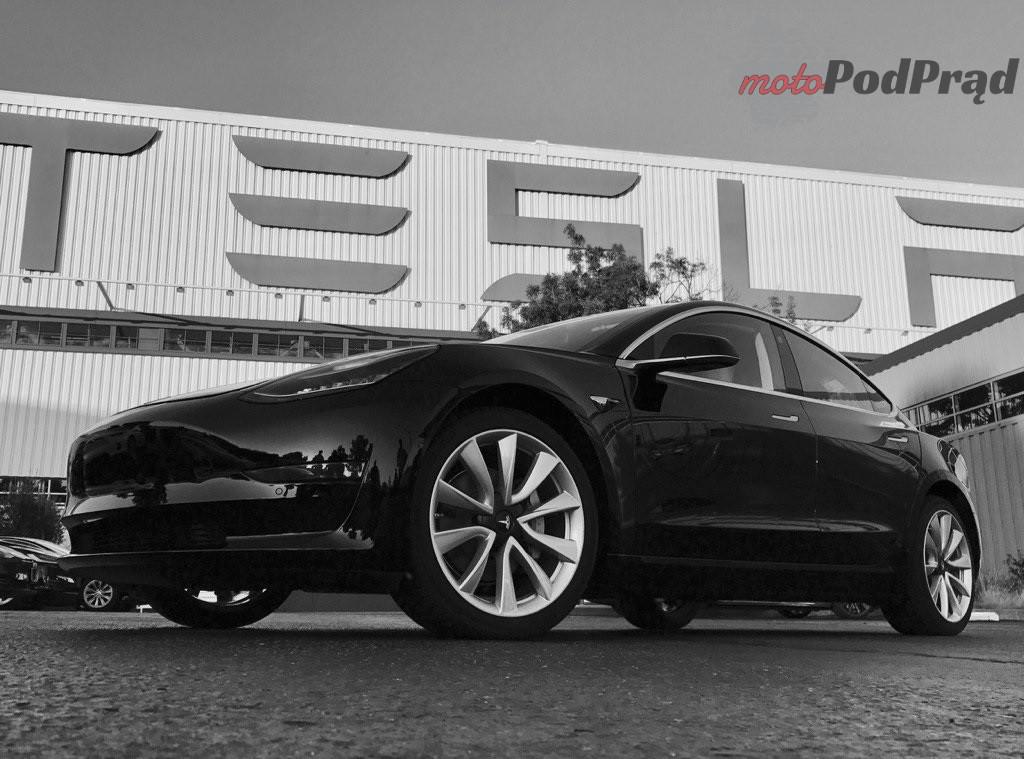 tesla model 3 sn 001 Tesla Model 3 już w produkcji!