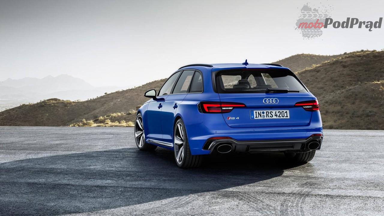 2018 audi rs4 avant 1 Audi RS4: mniej cylindrów, więcej viagry