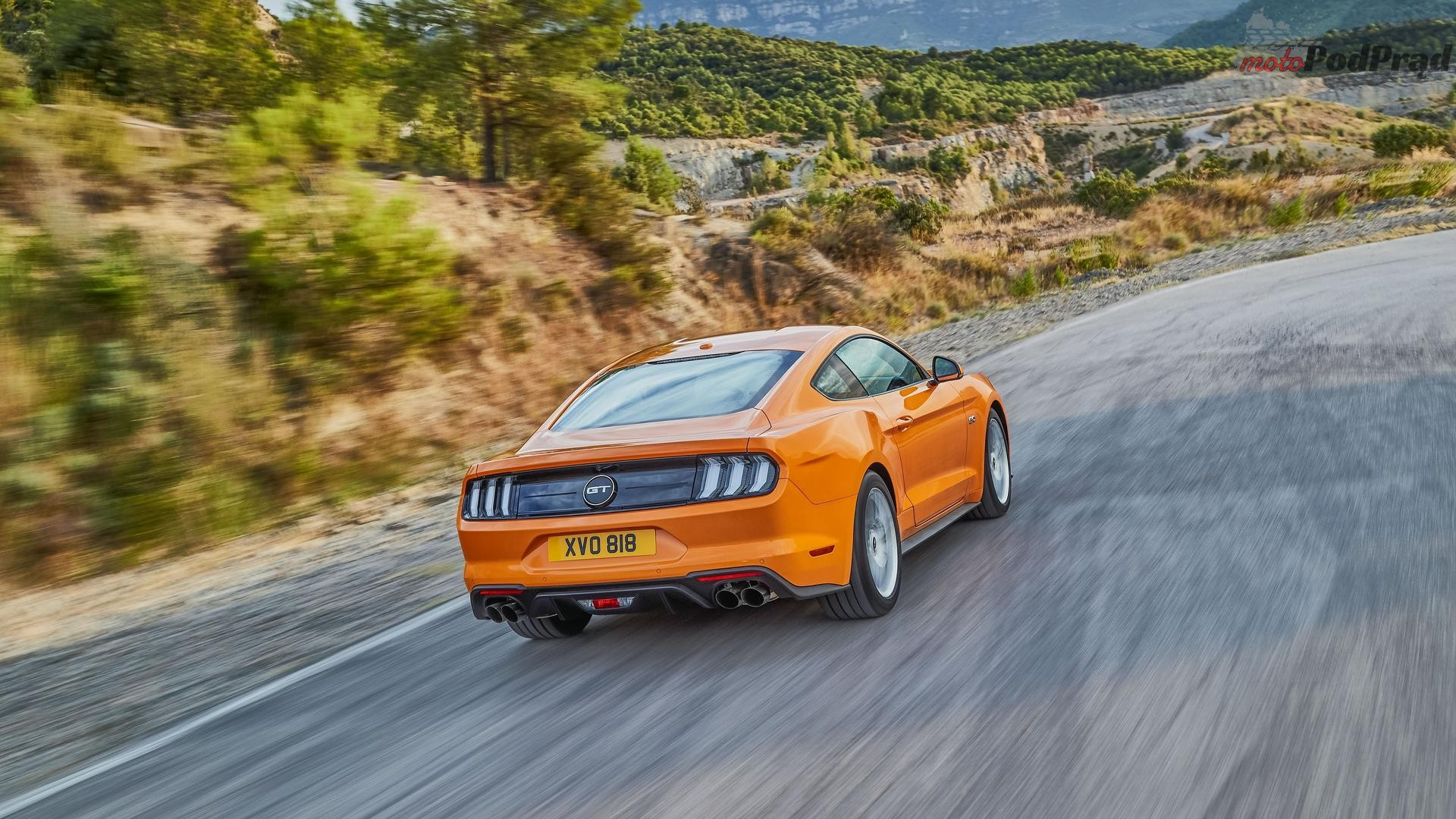 2018 ford mustang euro spec 1 Nowy Mustang gotowy na Europę