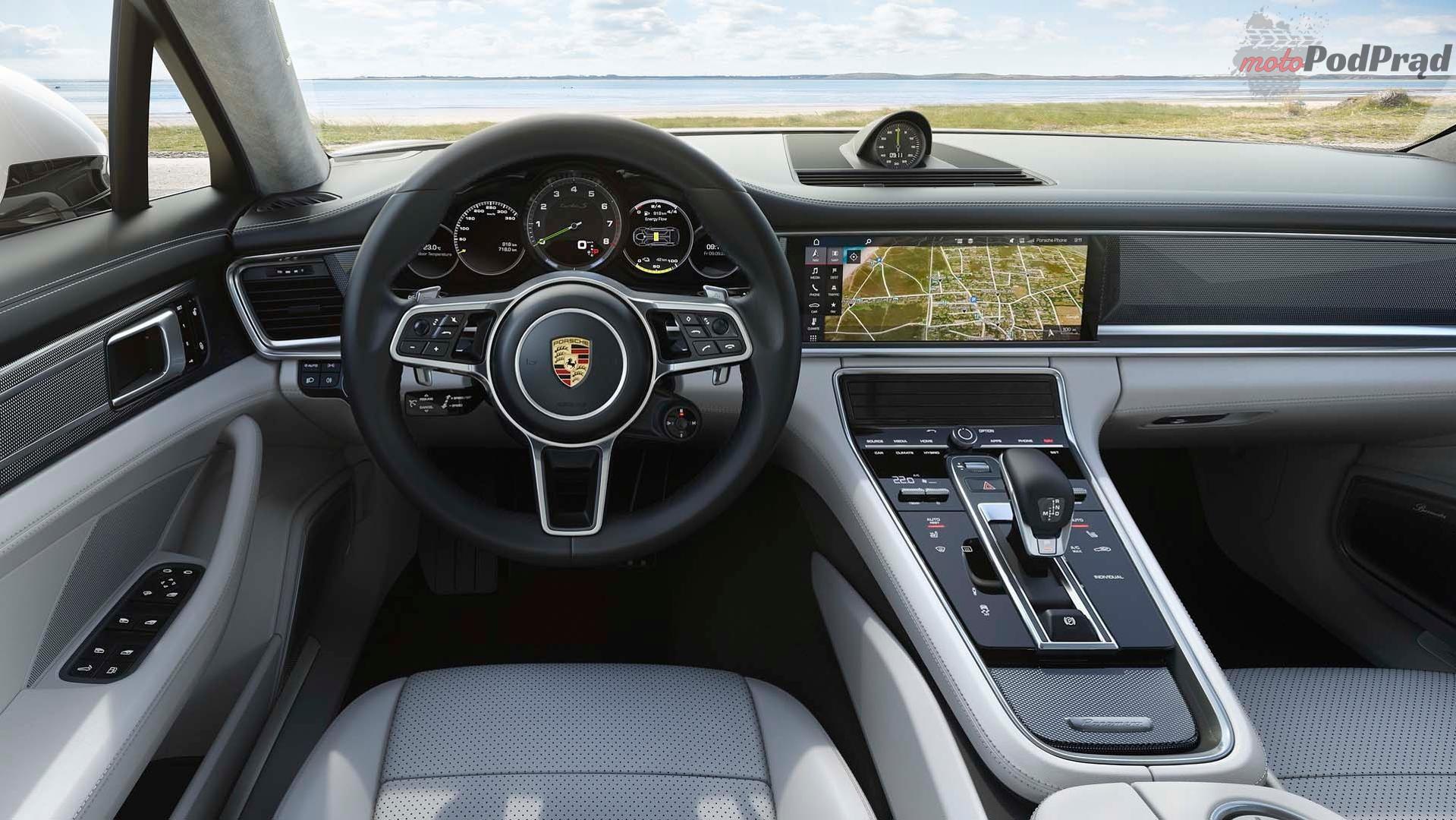 2018 porsche panamera turbo s e hybrid sport turismo 1 680 KM w Panamerze Sport Turismo