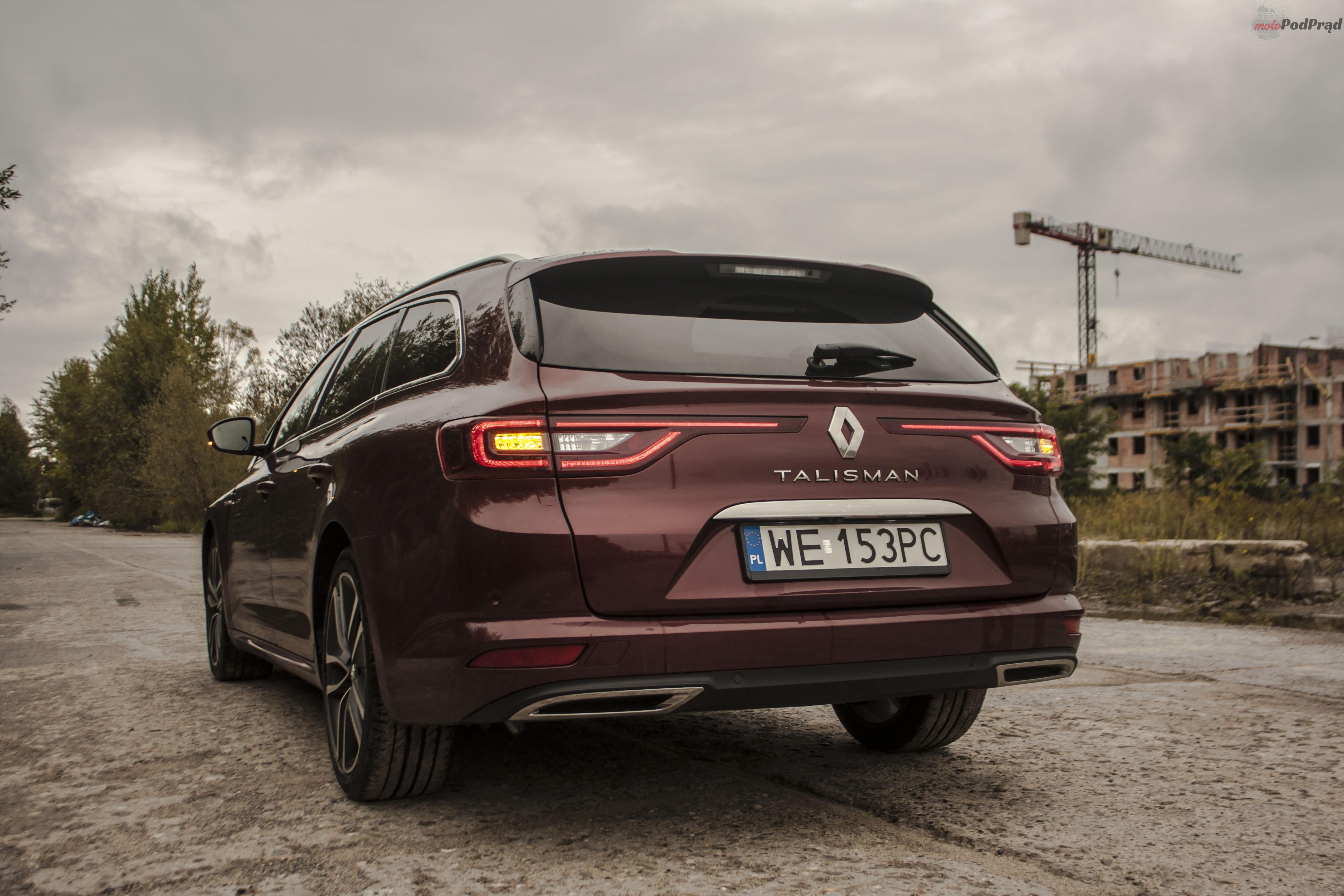 Renault Talisman 1 Test: Renault Talisman Grandtour 1.6 dCi 130 KM   kompan w podróży