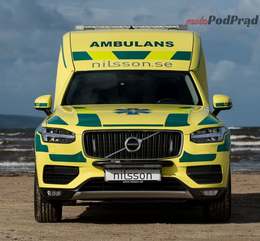 XC90 karetka 1 Nilsson XC90: Najlepszy ambulans na świecie?