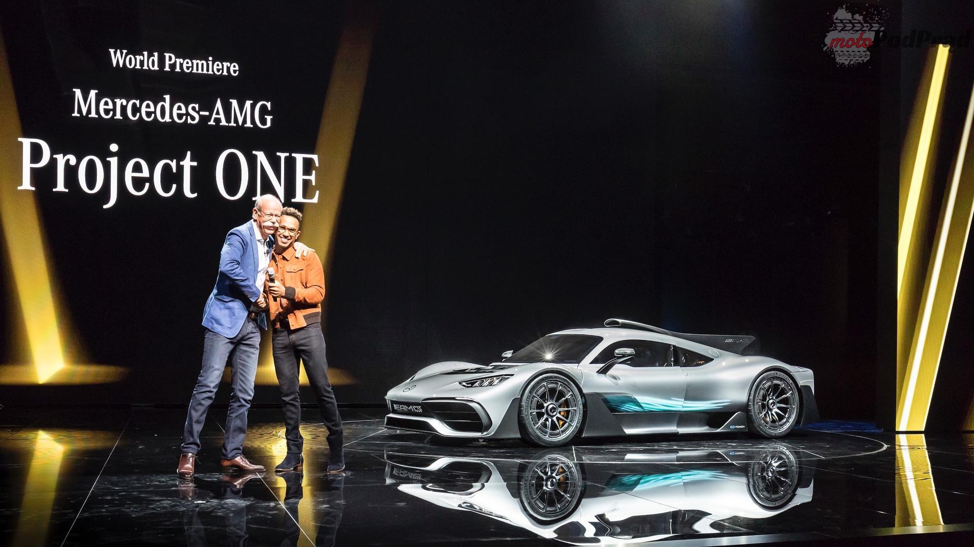 mercedes amg project one frankfurt 2017 Mercedes AMG Project One przesuwa granice wyobraźni