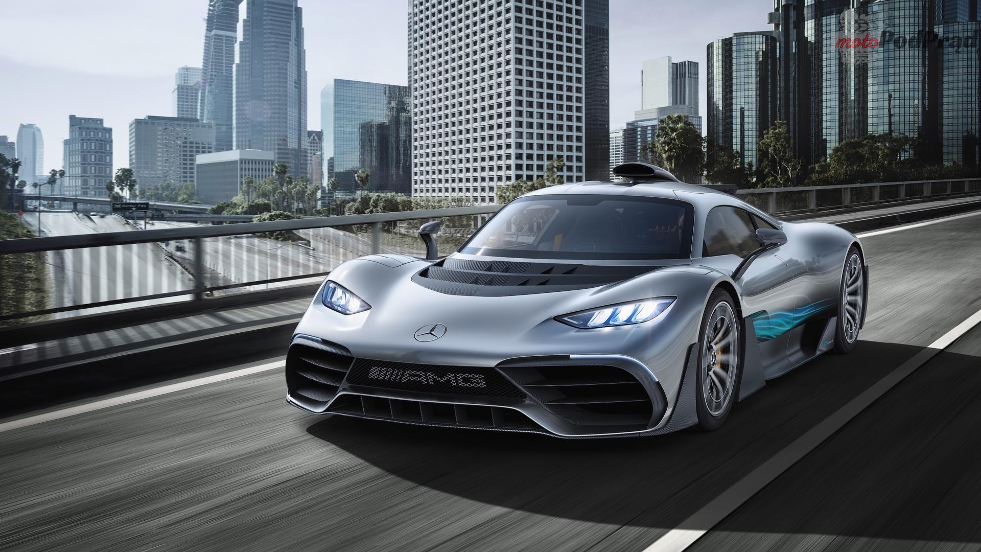 mercedes amg project one Mercedes AMG Project One przesuwa granice wyobraźni