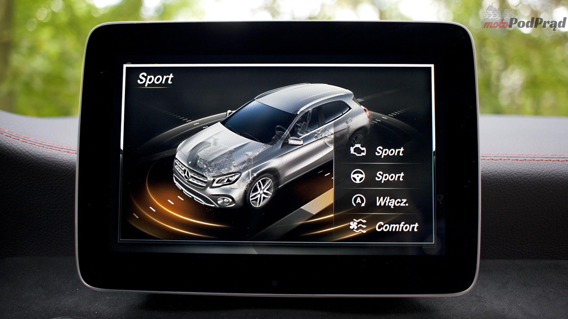 mercedes gla ekran Test: Mercedes GLA 220 4Matic   pierwsze wrażenie