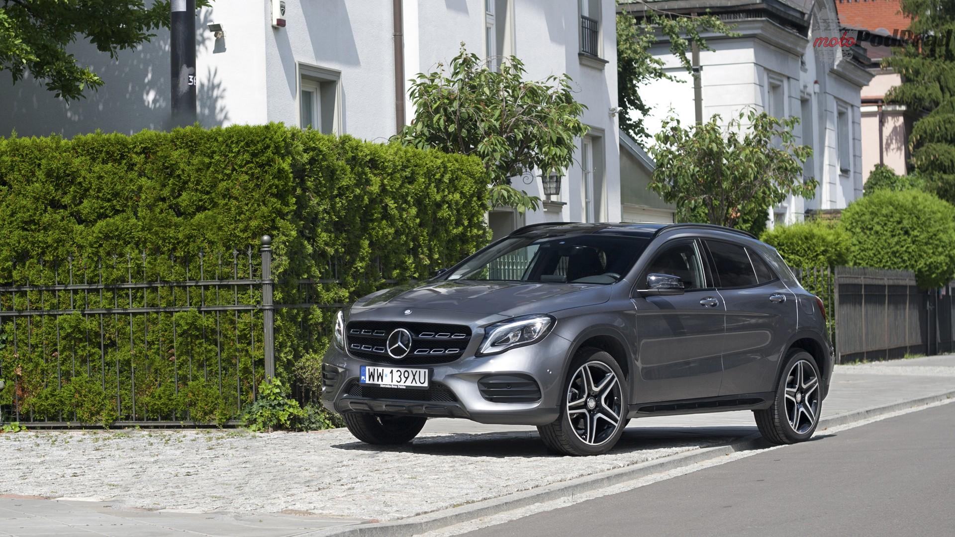 mercedes gla przód bok Test: Mercedes GLA 220 4Matic   pierwsze wrażenie