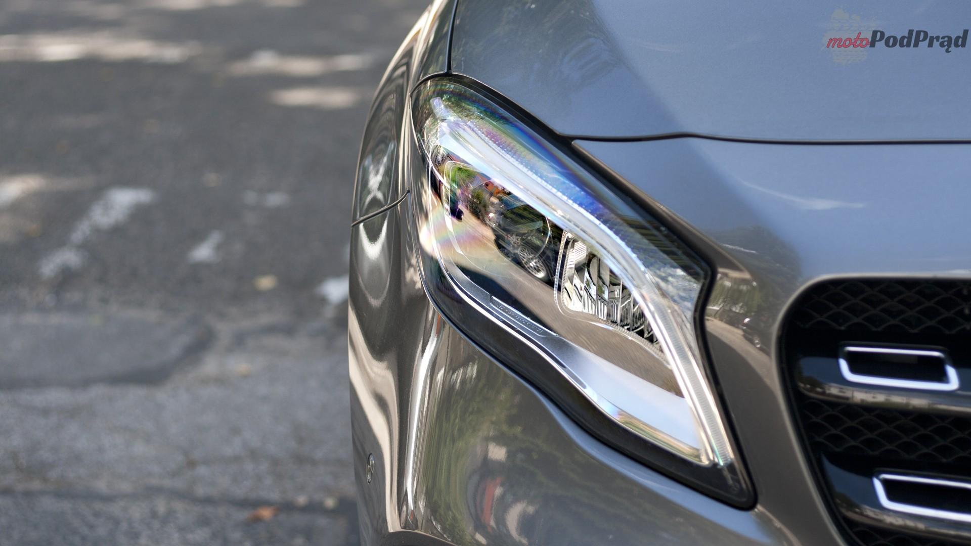 mercedes reflektor Test: Mercedes GLA 220 4Matic   pierwsze wrażenie