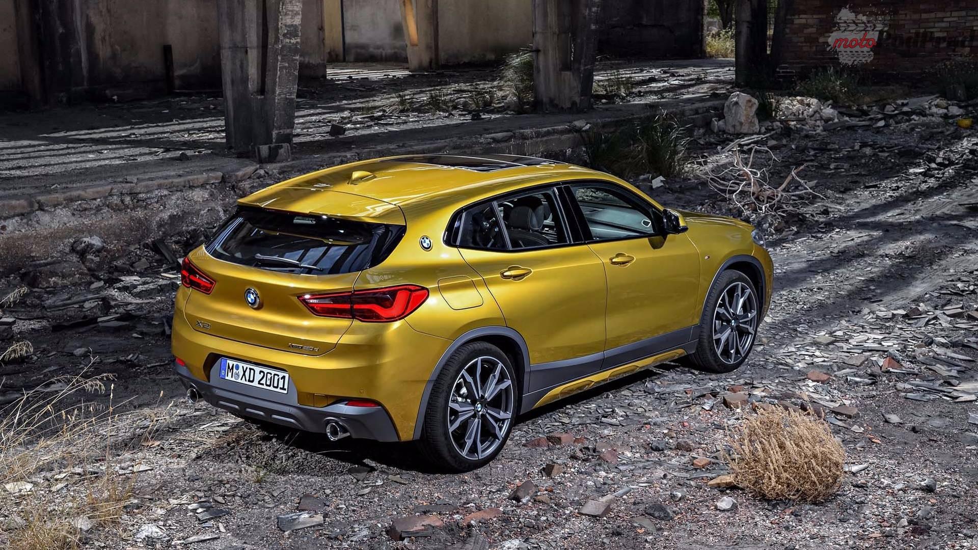 2018 bmw x2 1 BMW X2 uzupełnia gamę bawarskich crossoverów