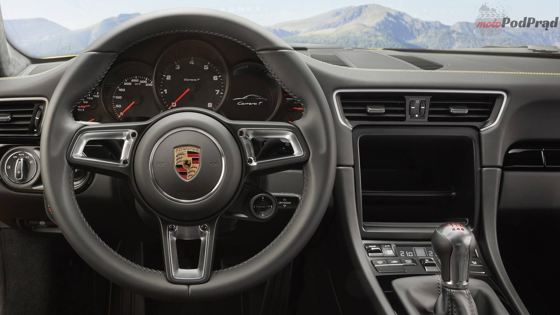 2018 porsche 911 carrera t 2 Porsche 911 T   nie Turbo, lecz Touring