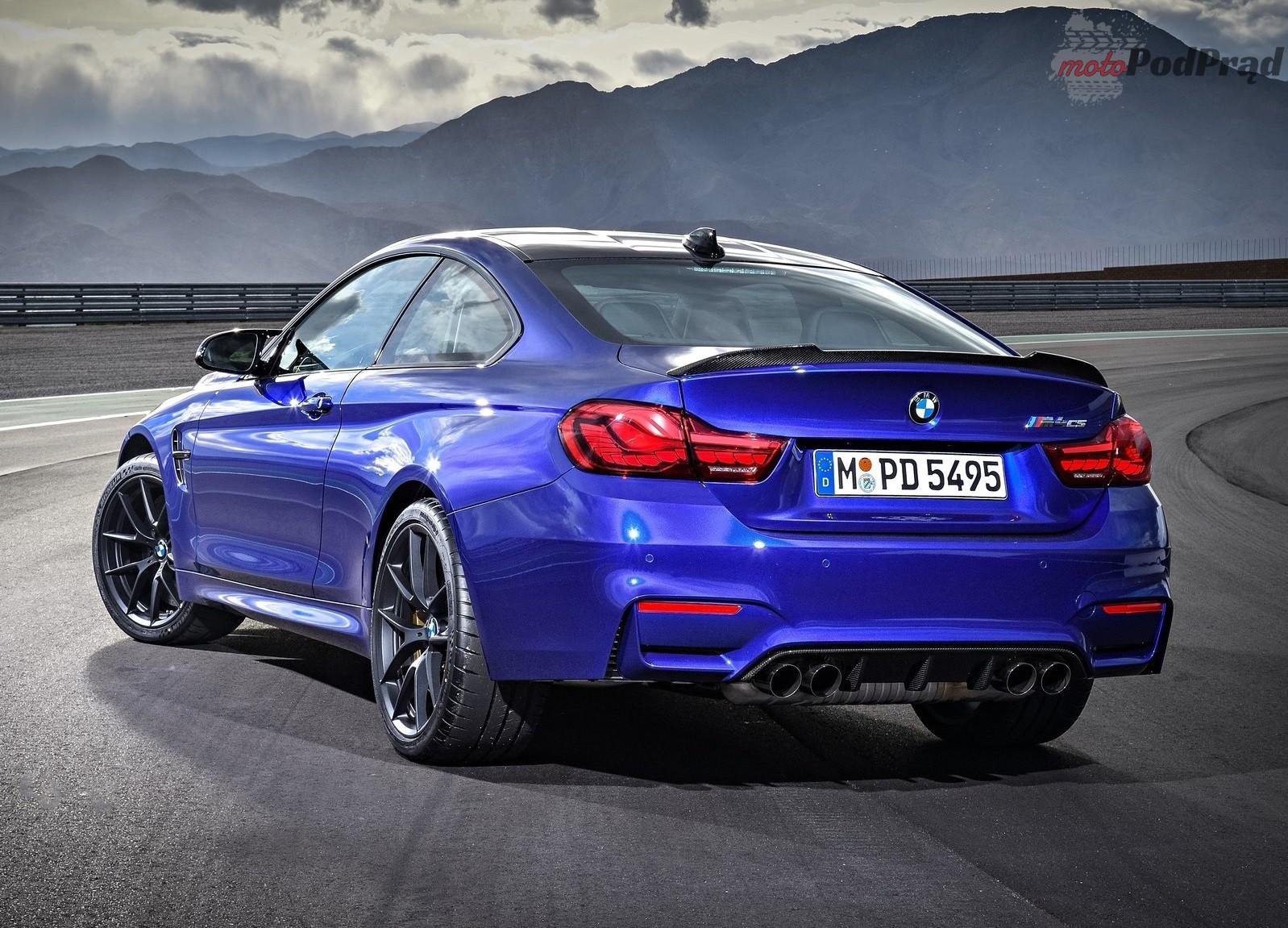 BMW M4 CS 2018 1600 36 CSL znów zagości w gamie BMW