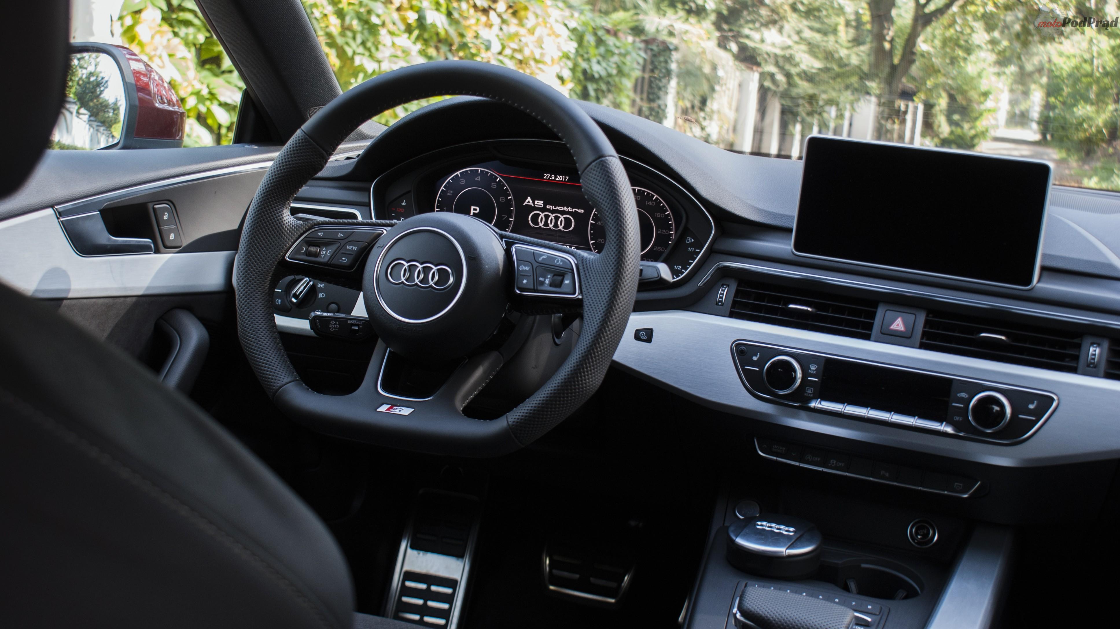 DSC01872 Test: Audi A5 Sportback 2.0 TFSI Quattro   Kwestia opakowania.