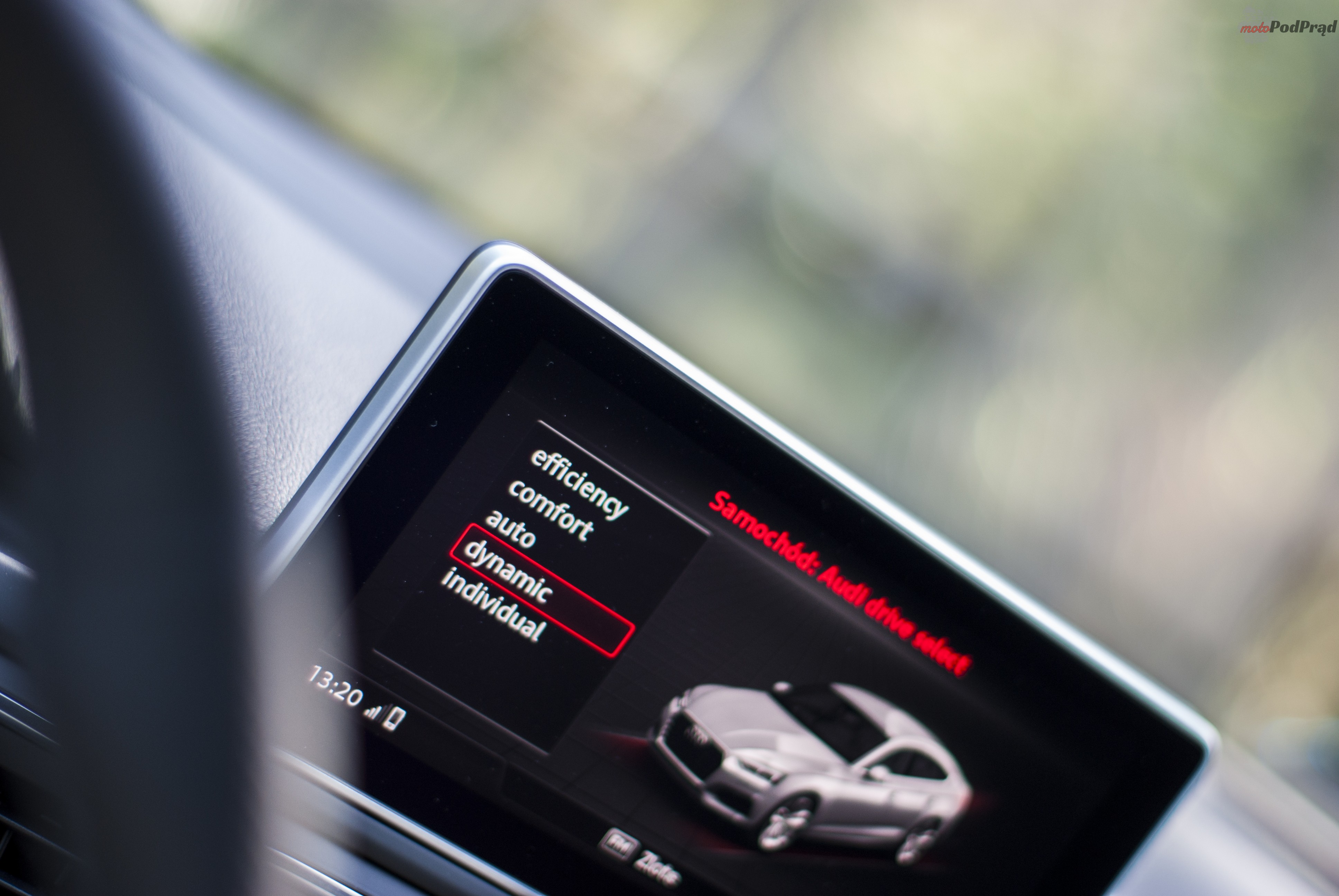 DSC01890 Test: Audi A5 Sportback 2.0 TFSI Quattro   Kwestia opakowania.