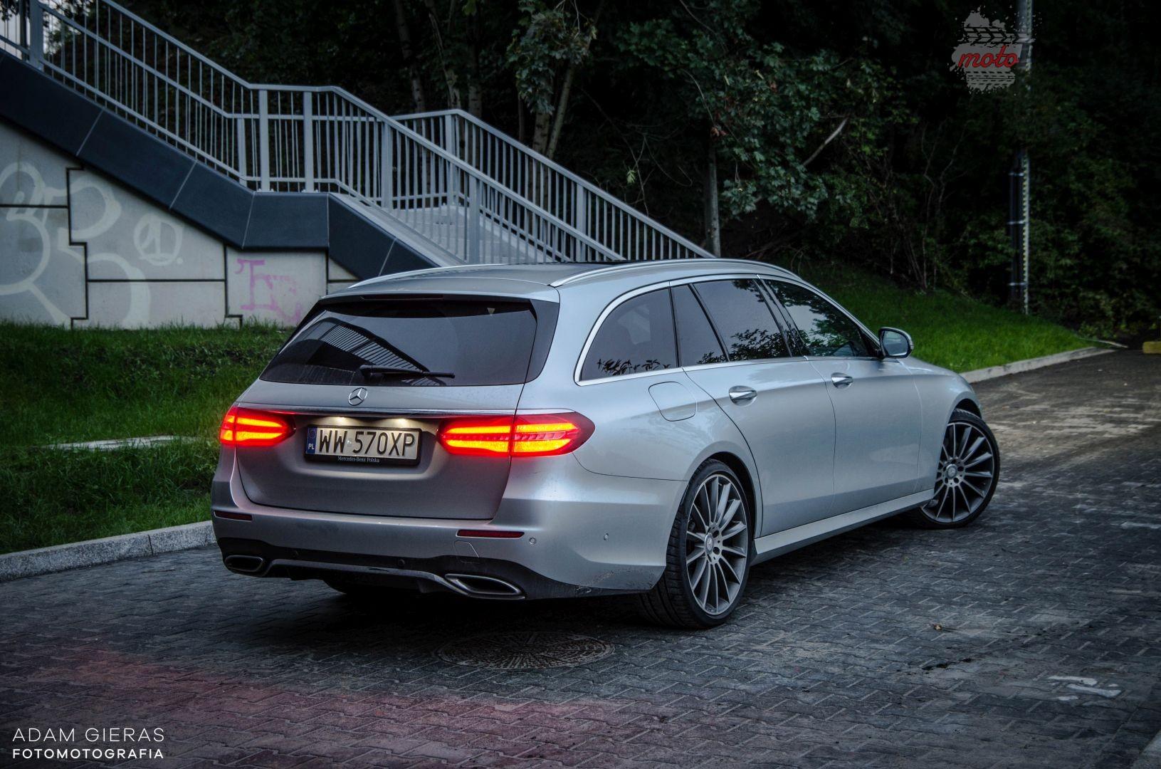 E klasa 21 Test: Mercedes E 220d Kombi   zamiast SUV a?
