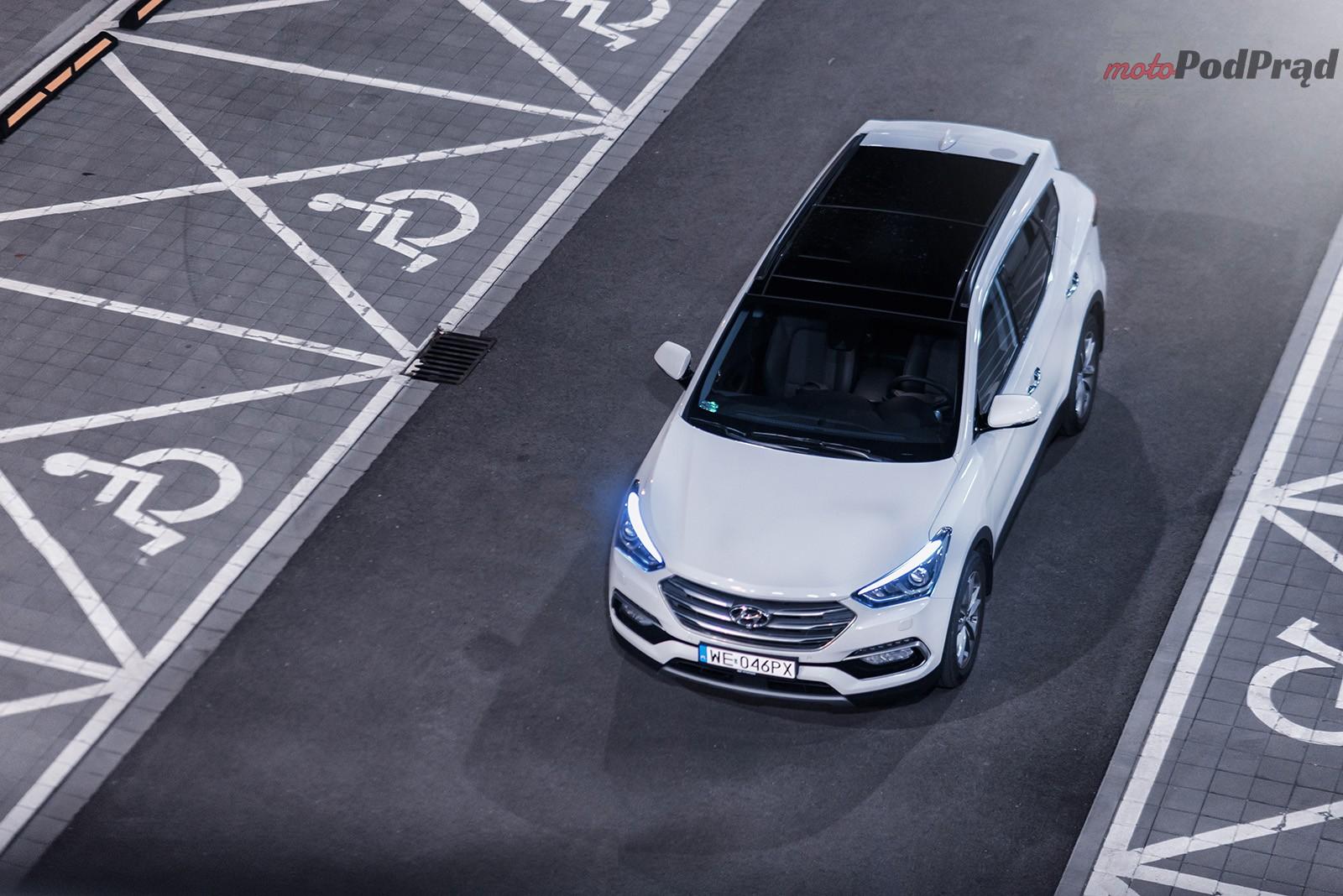 Hyundai Santa Fe 21 Test: Hyundai Santa Fe 2.2 CRDi 200 KM   wczasy na kołach