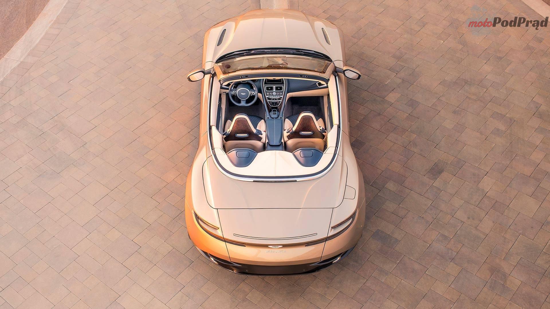 aston martin db11 volante 1 Aston Martin BD11 Volante   klasyka gatunku