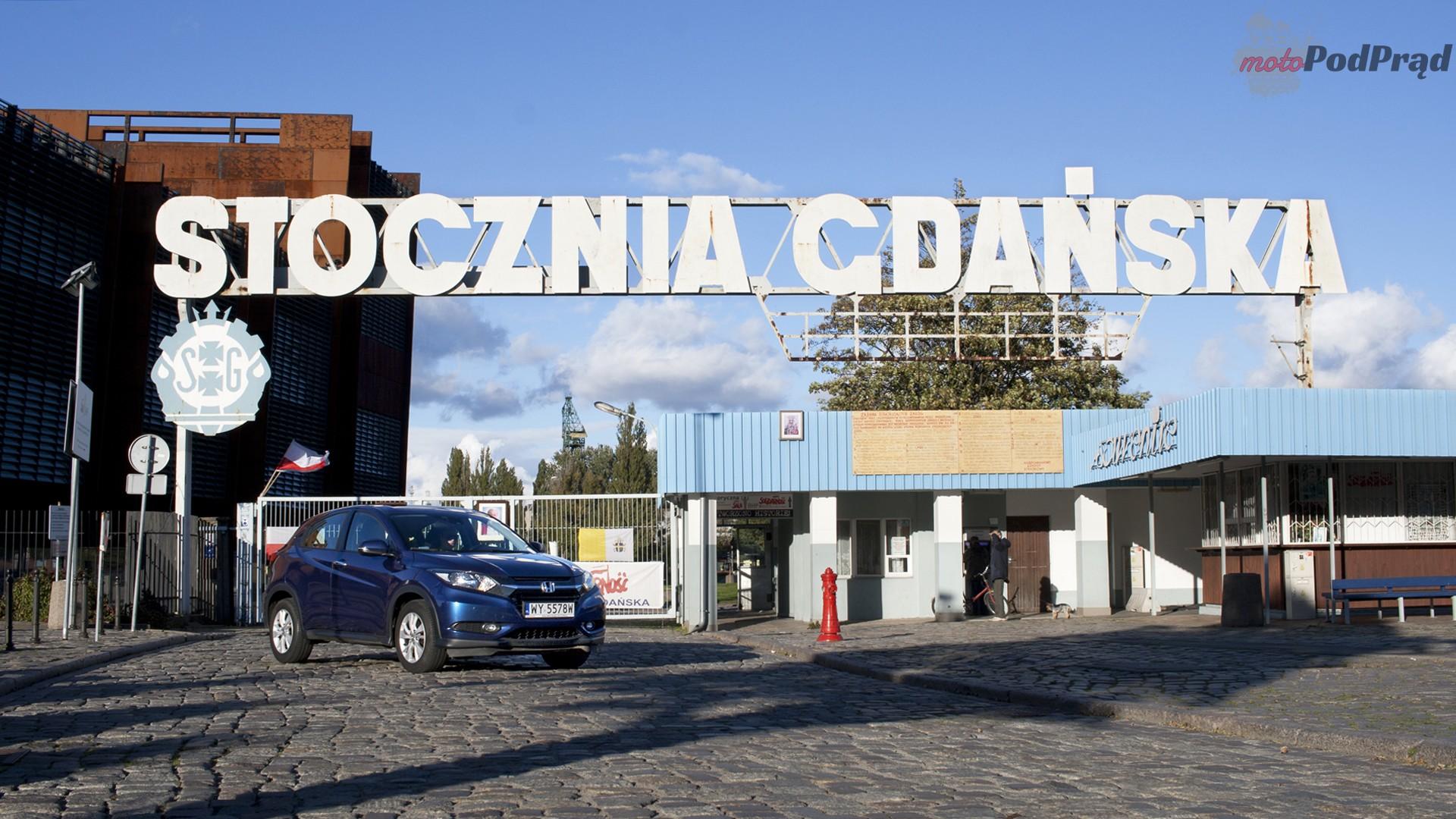 honda hrv stocznia gdańska Test: Honda HR V 1.6 i dtec i czterech wspaniałych...