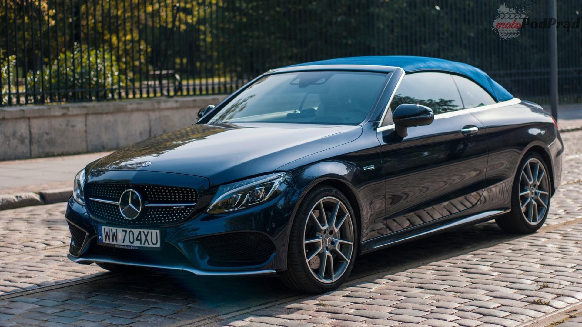 mercedes amg c43 cabrio 4 Minitest: Mercedes AMG C 43 Cabrio   Ostatnie promienie słońca