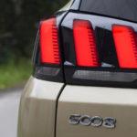 peugeot 5008 tylne światło 150x150 Test: Peugeot 5008 Allure 1.6 THP   indywidualista na przekór...