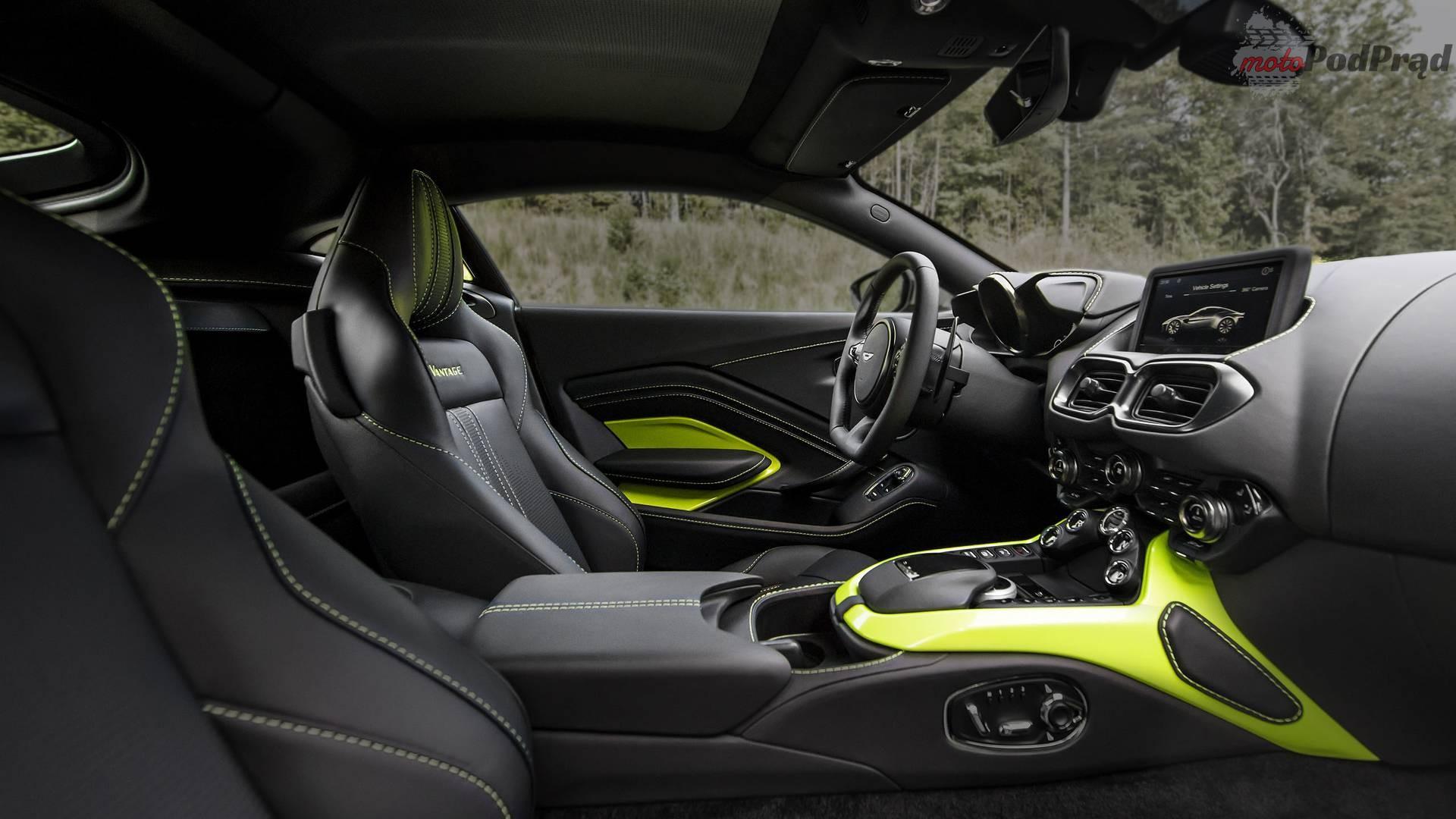 2018 aston martin vantage Aston Martin V8 Vantage: brutal, ale z klasą