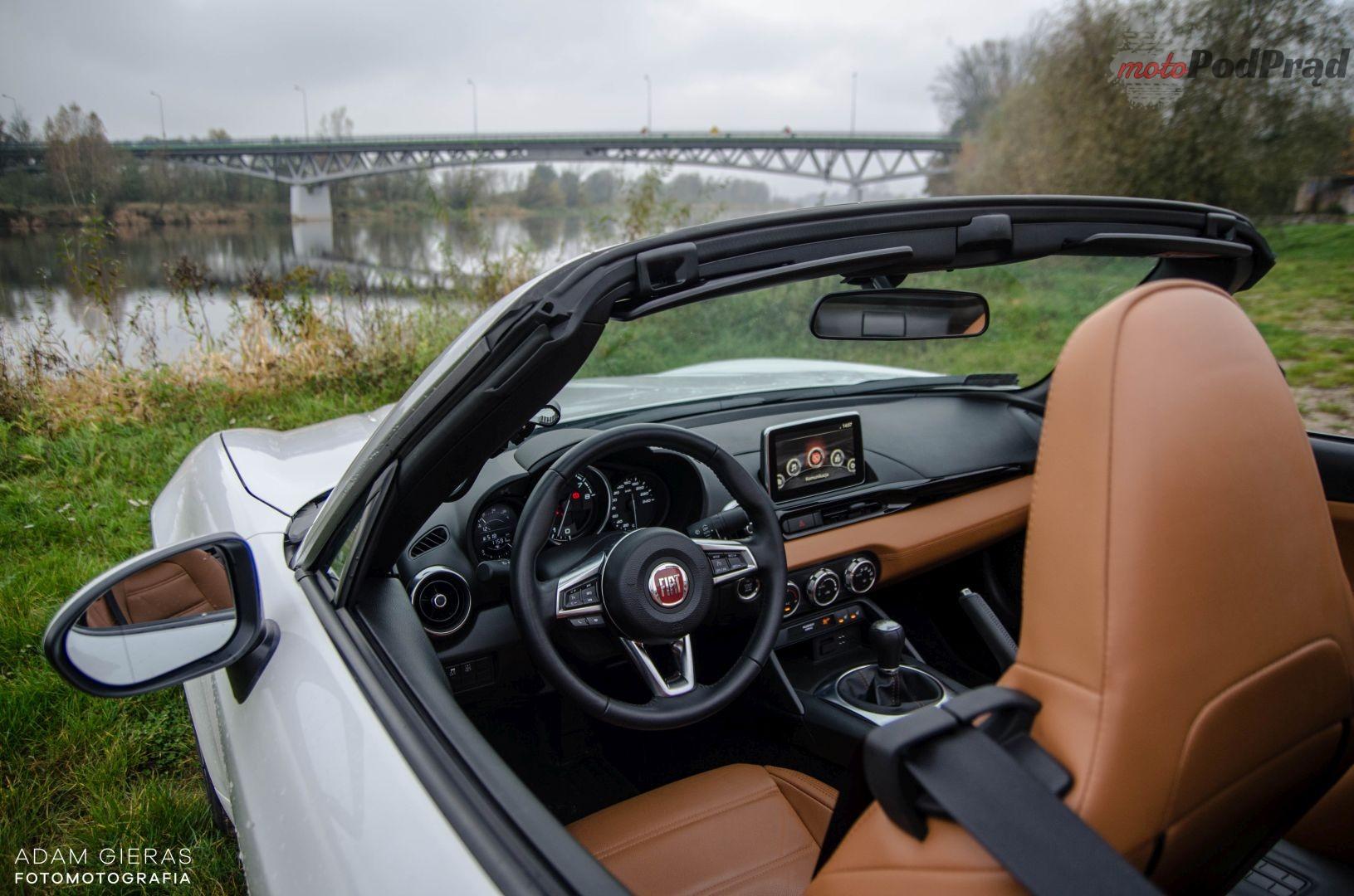 Fiat 124 10 Test: Fiat 124 Spider Lusso. Słoneczna Italia w pochmurną polską jesień?
