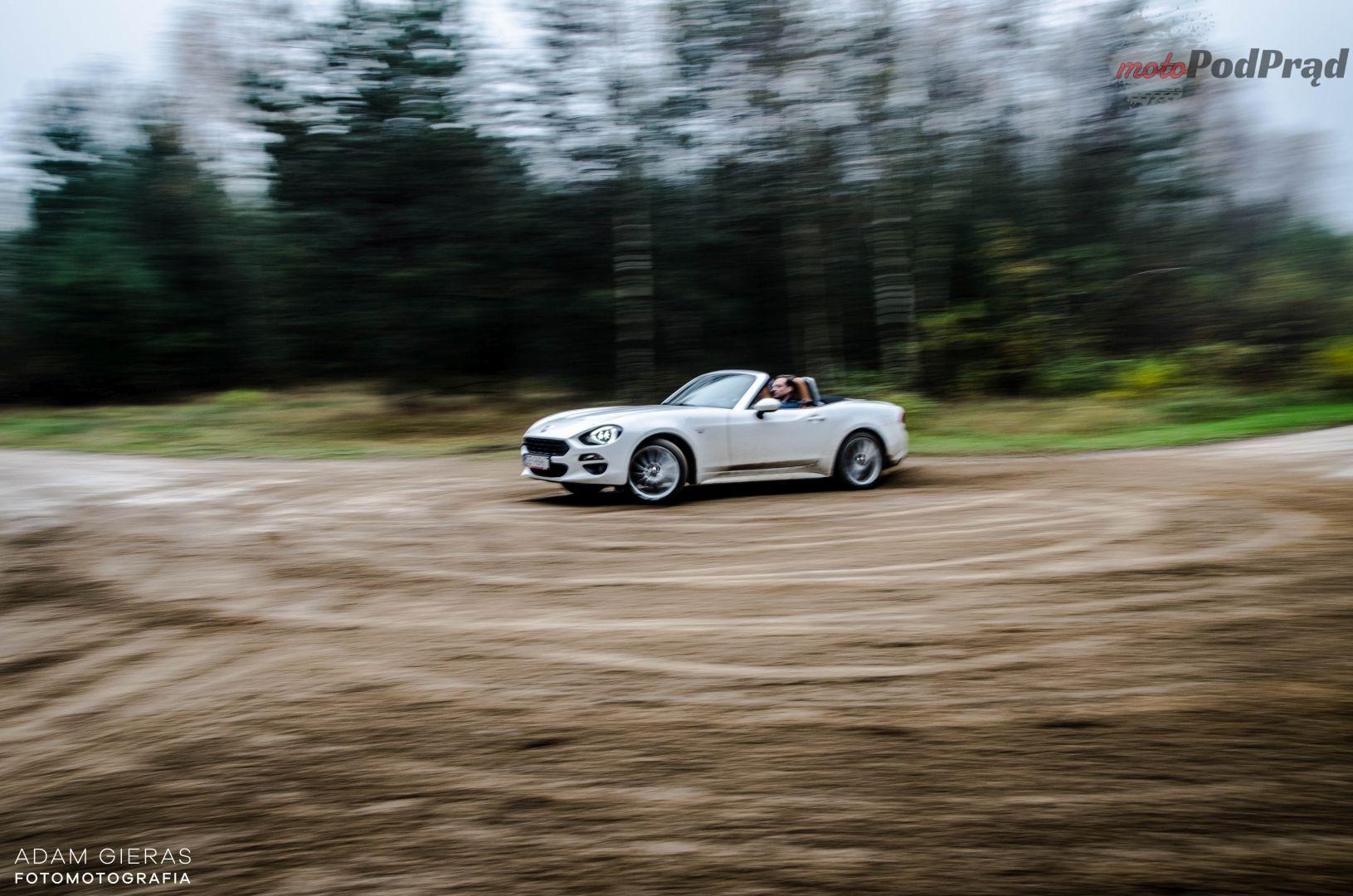 Fiat 124 11 Test: Fiat 124 Spider Lusso. Słoneczna Italia w pochmurną polską jesień?