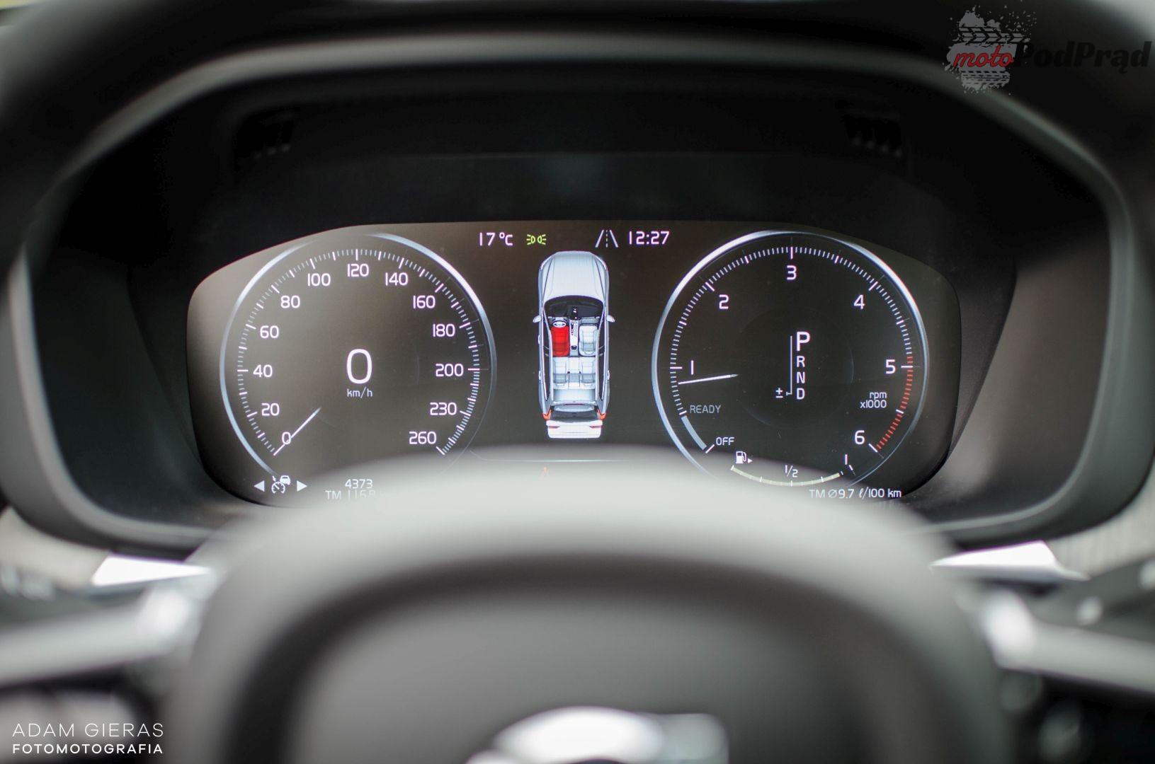 xc60d5 14 Test: Volvo XC60 D5 AWD Inscription   bezpieczeństwo podane ze smakiem