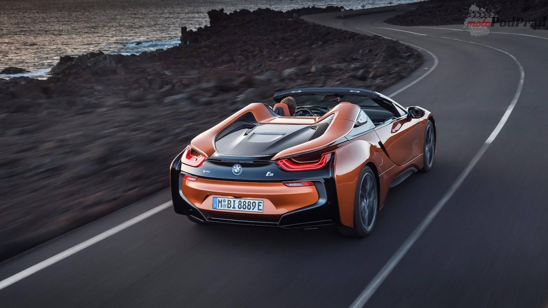 2019 bmw i8 roadster 1 BMW i8 bez dachu oficjalnie