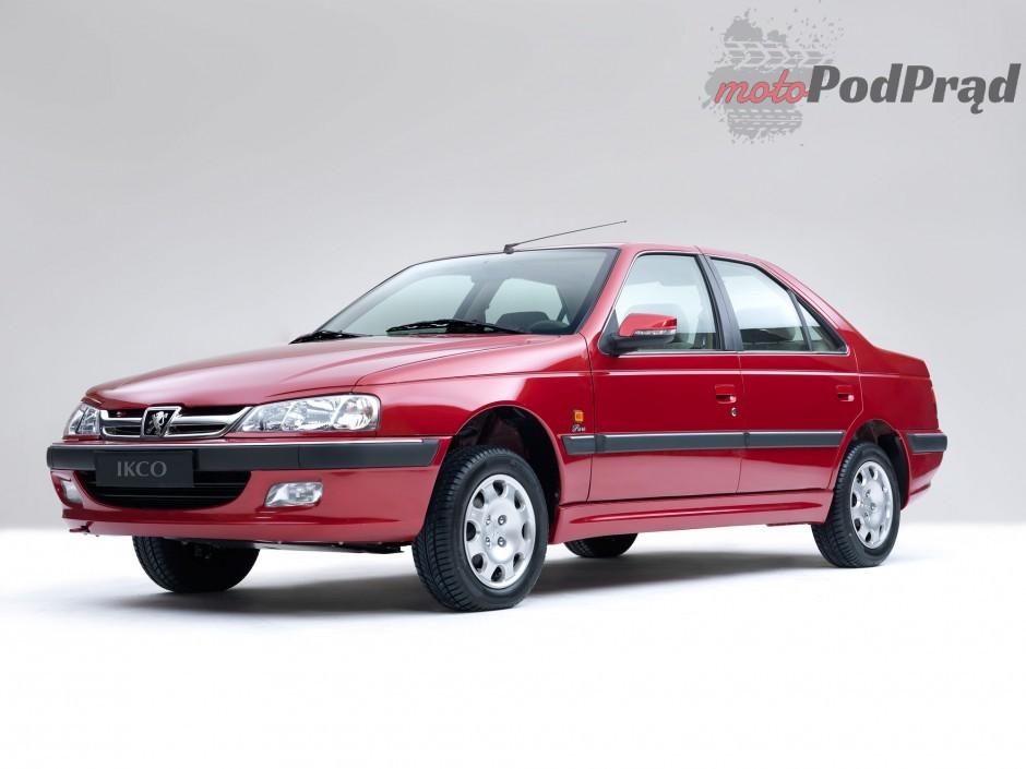 3 Niedostępne w Polsce: Peugeot 405/ Pars od IKCO   30 lat minęło...