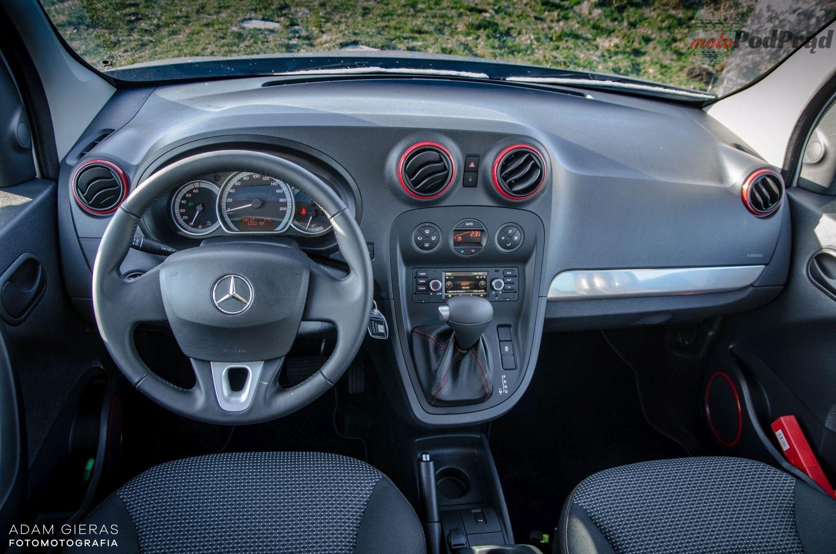 Citan 2 1 Test: Mercedes Citan 112 AT   chciałby być vanem, ale?