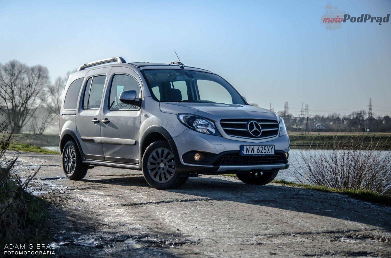 Citan 21 Test: Mercedes Citan 112 AT   chciałby być vanem, ale?