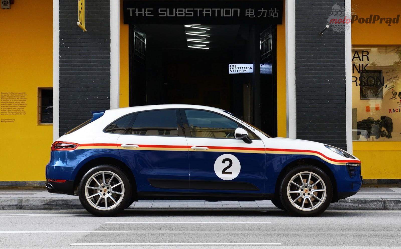 Porsche Macan 4 Porsche Macan w klasycznych malowaniach z LeMans   dlaczego nie?