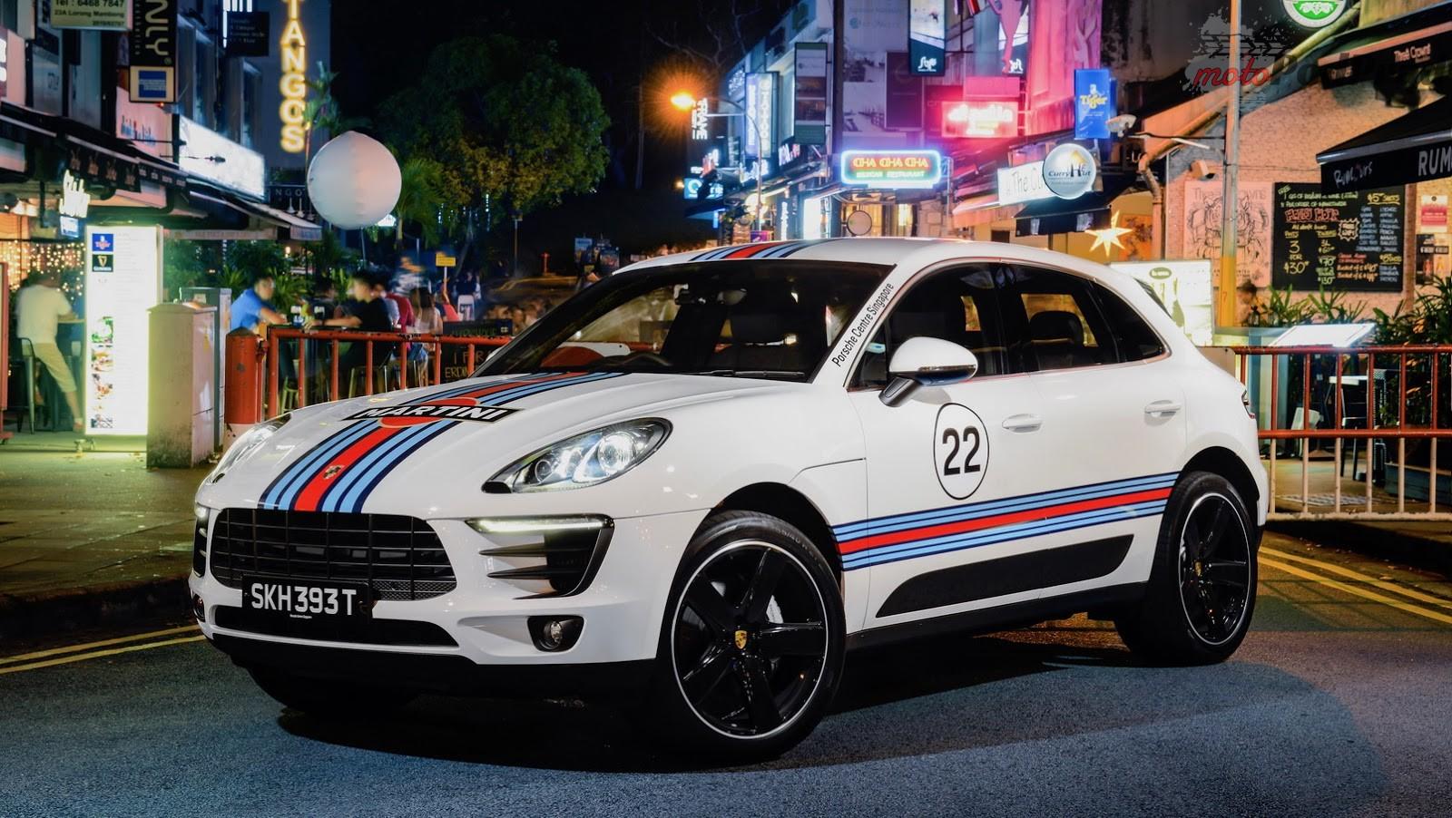 Porsche Macan 8 Porsche Macan w klasycznych malowaniach z LeMans   dlaczego nie?