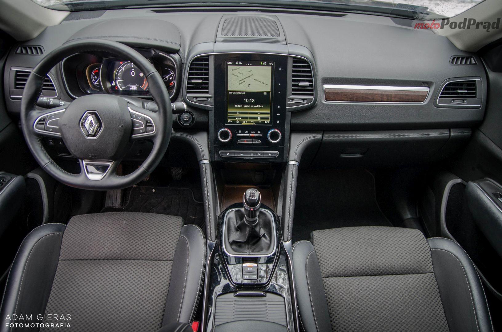 Renault Koleos 9 Test: Renault Koleos 2.0 dCi 4x4 Intens   przyjemny i stateczny