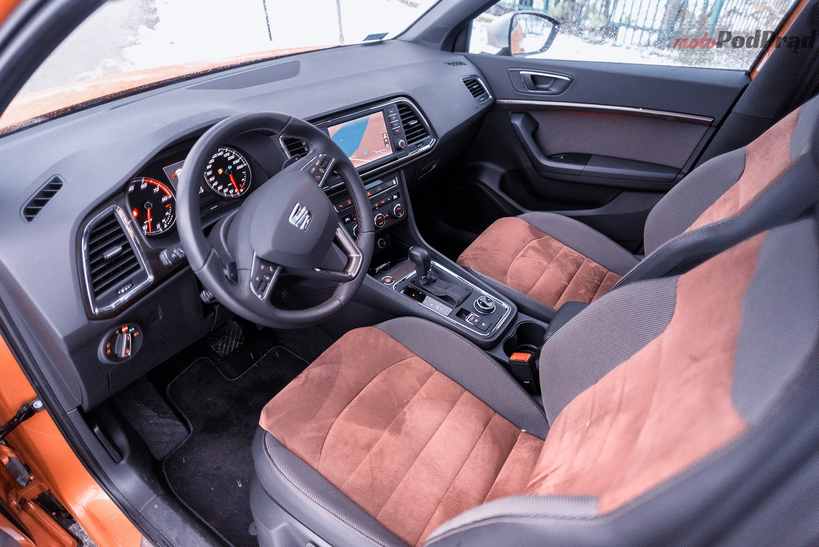 Seat Ateca 8 Test: Seat Ateca 1.4 TSI   pomarańczowa rewolucja