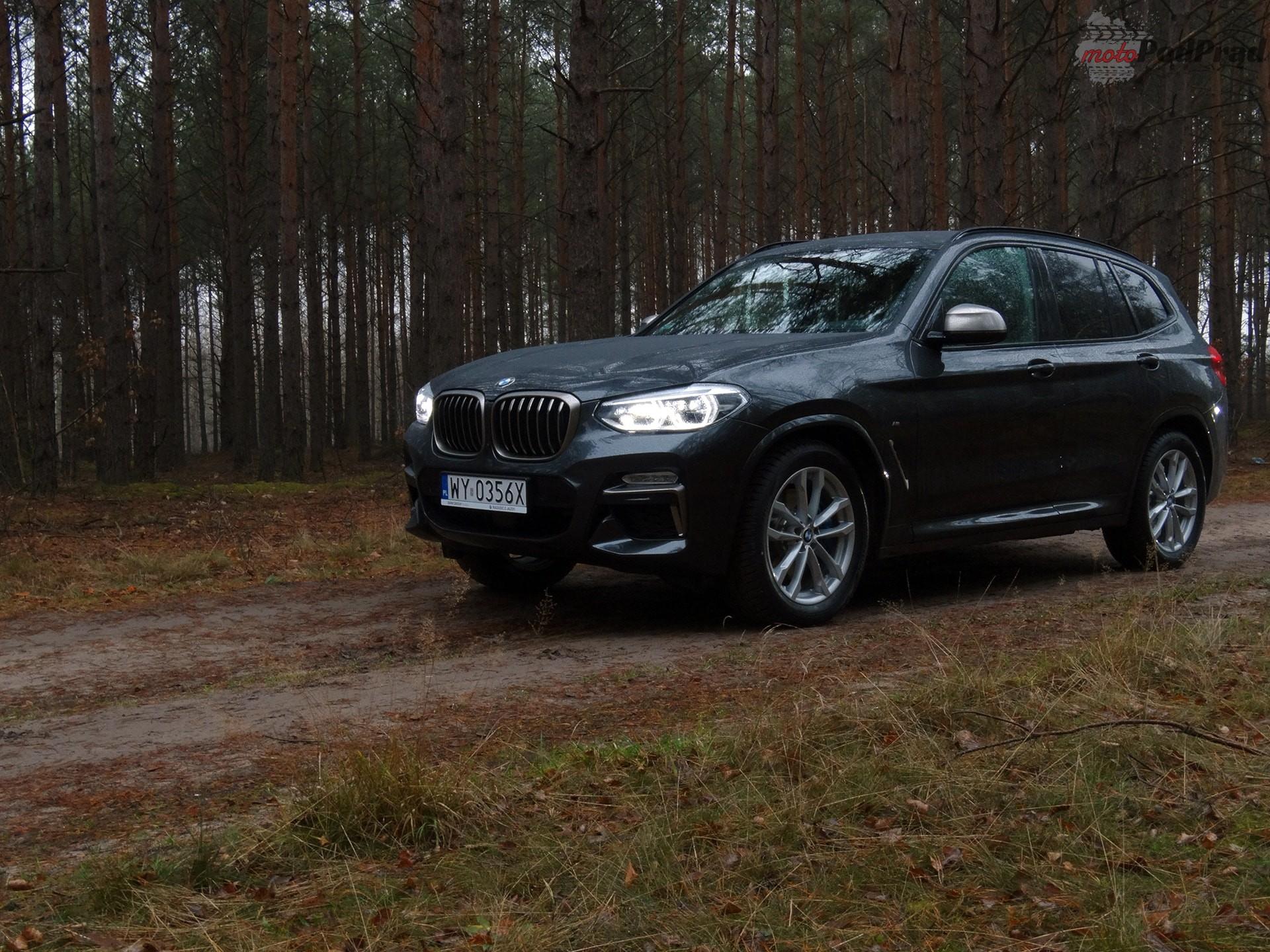 bmw x3 2018 m40i 2 Minitest: BMW X3 M Power   krótka przygoda
