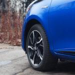 toyota yaris hybrydowa hybrid 2017 selection felga koło 150x150 Test: Toyota Yaris Hybrid Selection   chłodna kalkulacja?