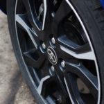 toyota yaris hybrydowa hybrid 2017 selection felga koło logo 150x150 Test: Toyota Yaris Hybrid Selection   chłodna kalkulacja?