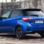 toyota yaris hybrydowa hybrid 2017 selection półprofil tył niebieska 1 150x150 Test: Toyota Yaris Hybrid Selection   chłodna kalkulacja?