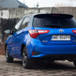 toyota yaris hybrydowa hybrid 2017 selection tył 150x150 Test: Toyota Yaris Hybrid Selection   chłodna kalkulacja?