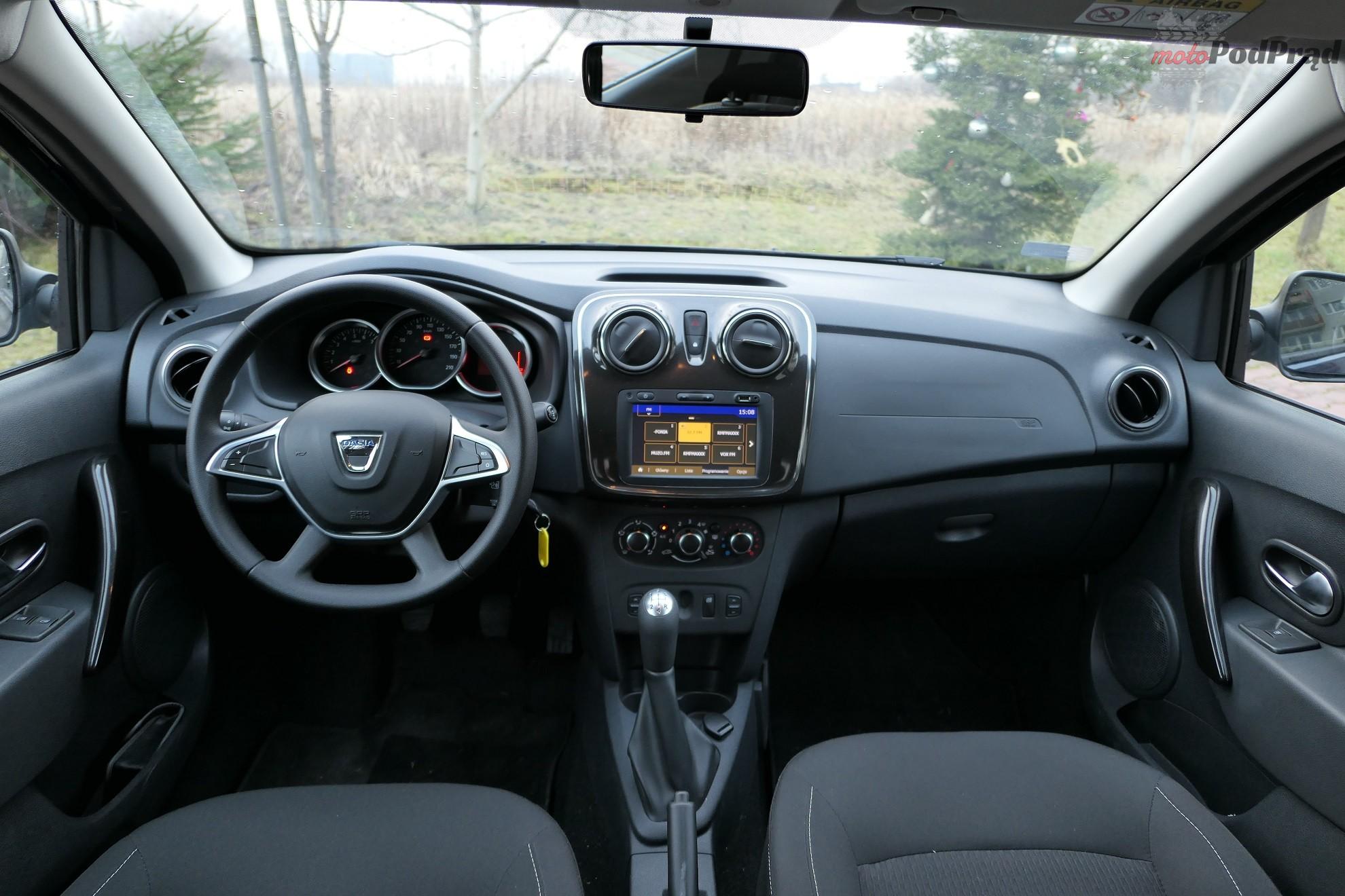 Dacia Sandero 31 Test: Dacia Sandero 1.0 75 KM   w cenie dodatków