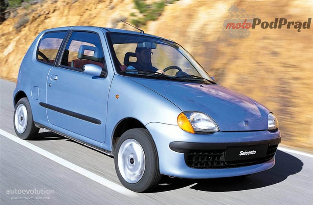 FIATSeicento 1303 2 Piękni dwudziestoletni: modele, które kończą w tym roku 20 lat