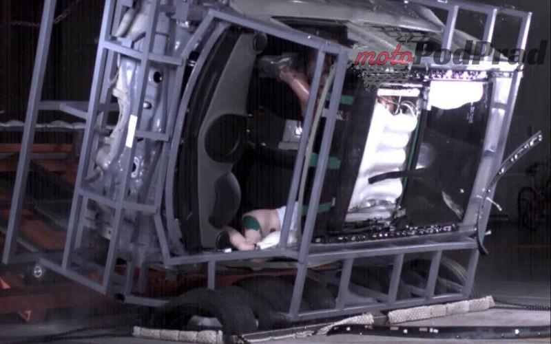 Hyundai Sunroof Airbag 2 Hyundai opracował dachową poduszkę powietrzną