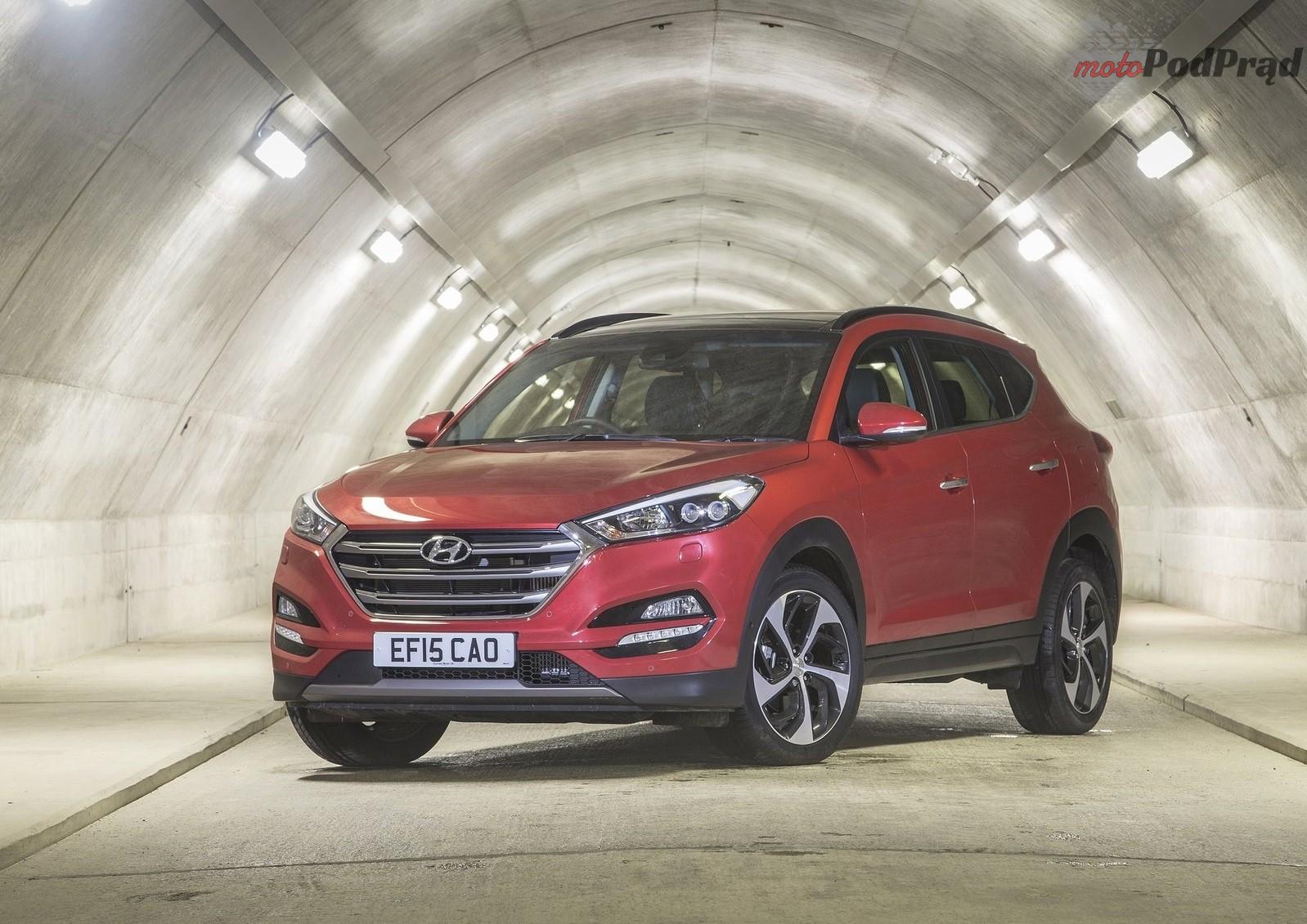 Hyundai Tucson EU Version 2016 1600 05 Najpopularniejsze SUV y w Polsce   podsumowanie 2017 r.