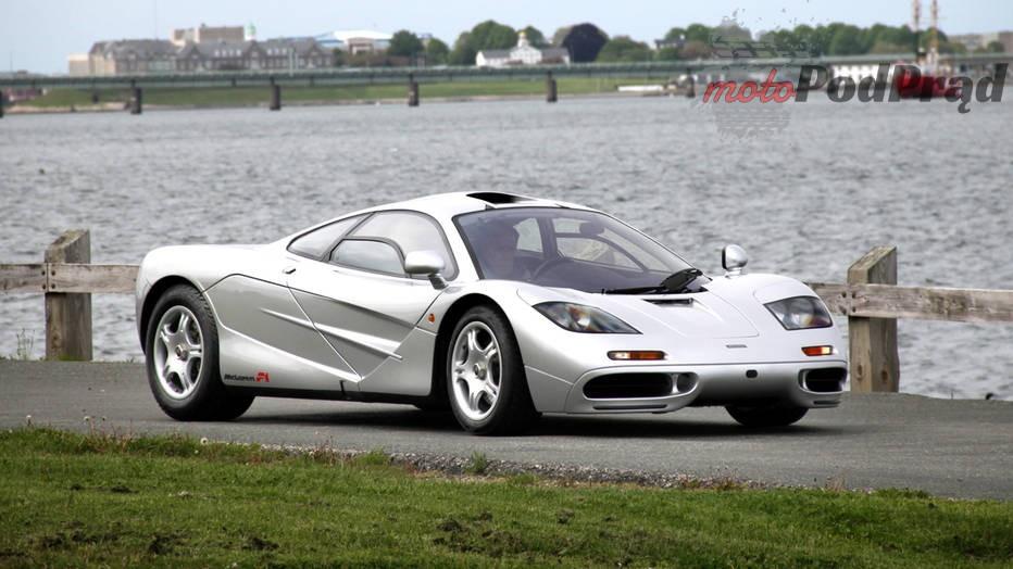 McLaren F1 Piękni dwudziestoletni: modele, które kończą w tym roku 20 lat