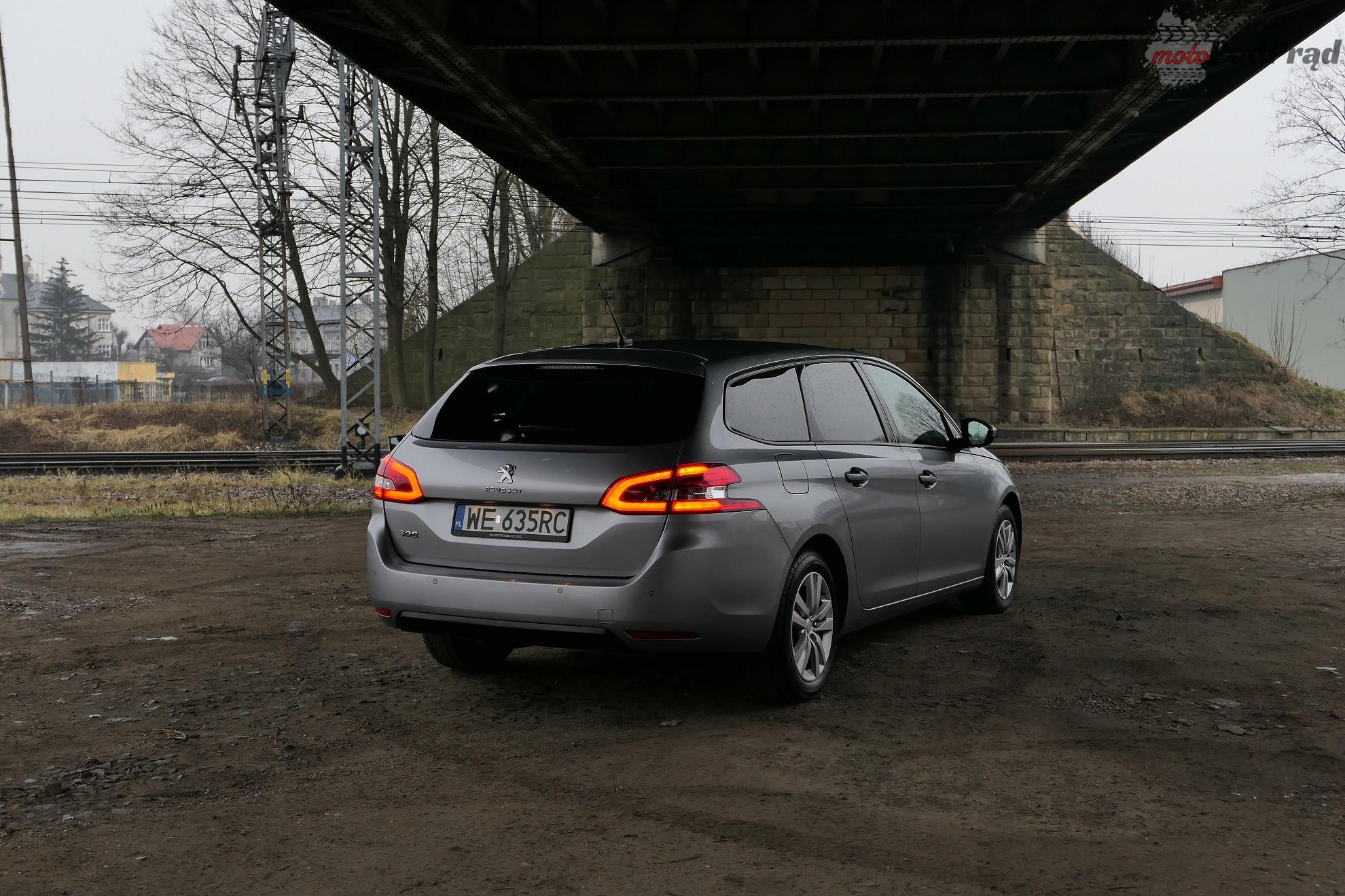 Peugeot 308 SW 5 Test: Peugeot 308 SW 120 KM   potrafi podrapać