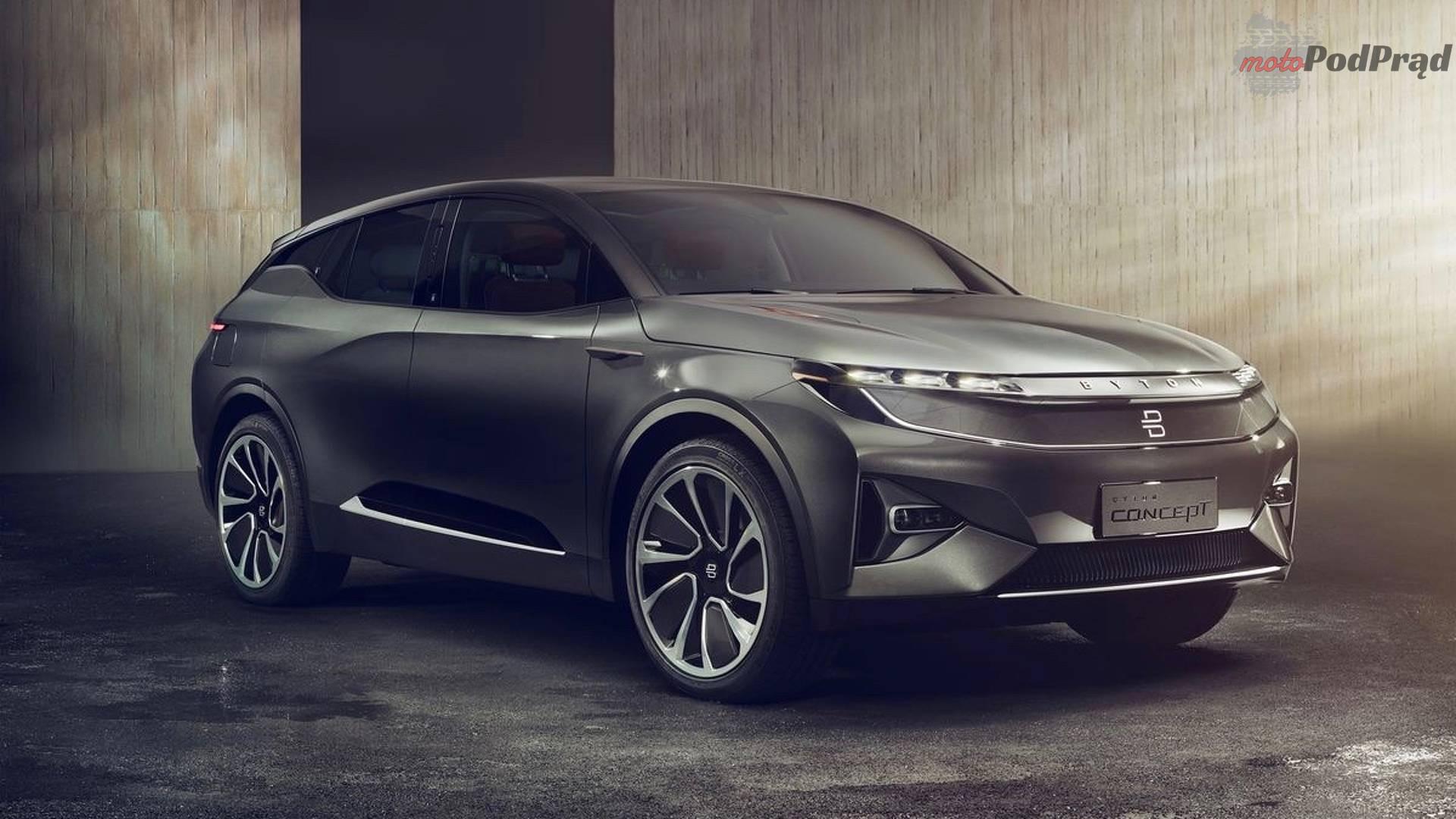 byton concept electric crossover 2 Byton Concept   chińska odpowiedź na Teslę