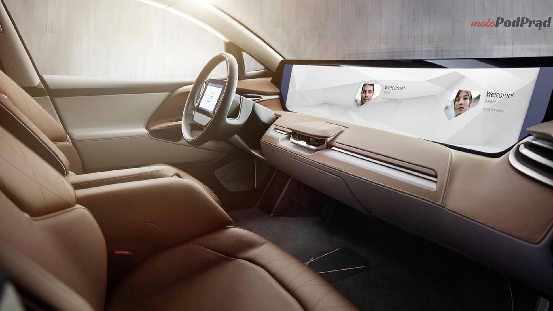 byton concept electric crossover Byton Concept   chińska odpowiedź na Teslę
