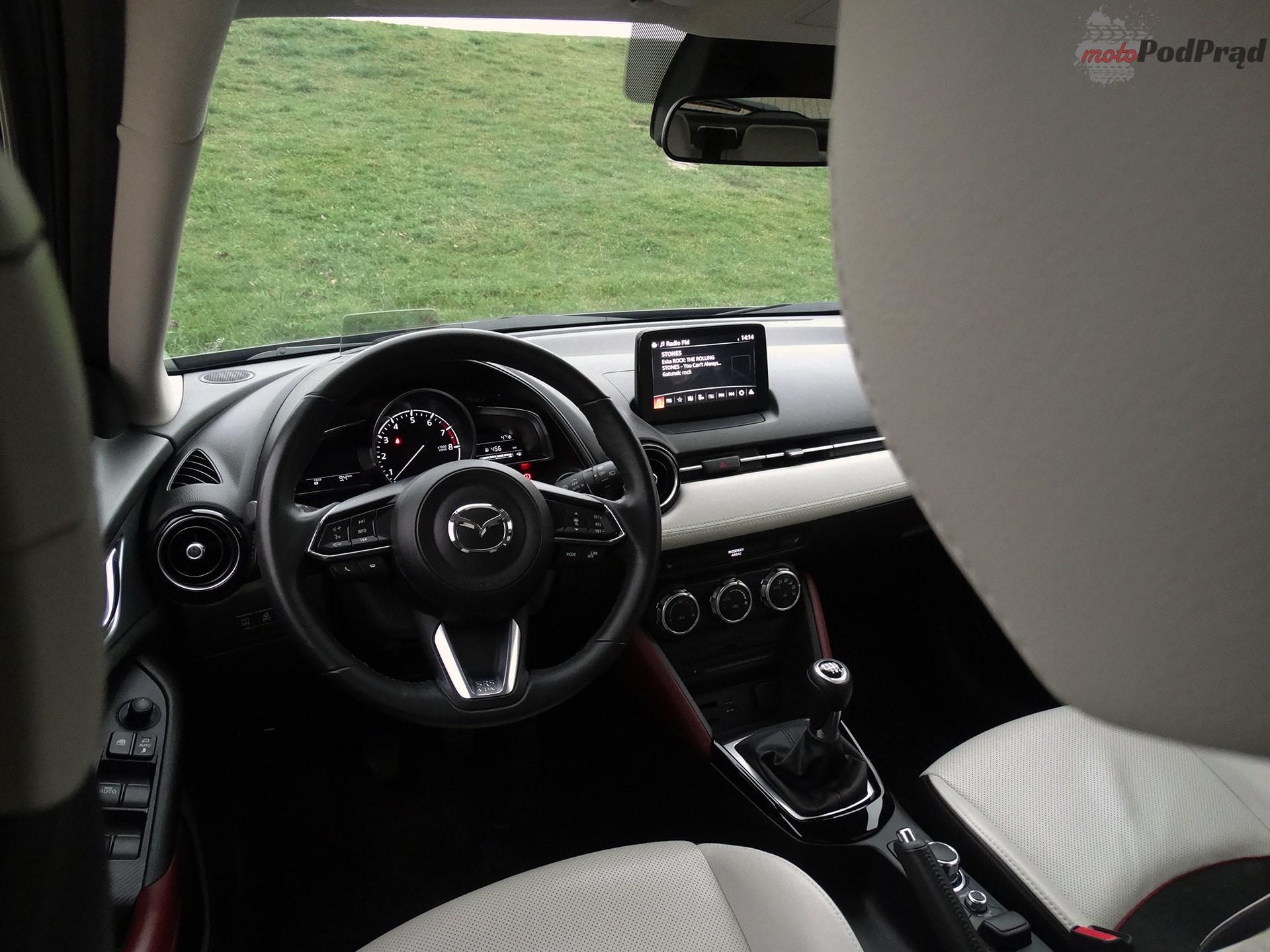 mazda cx 3 11 Test: Mazda CX 3 2.0 150 KM 4x4   na przekór modzie
